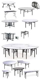 whole foldable round iron restaurant dining table hot pot table with 4 legs
