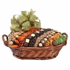 jumbo israeli chocolate dried fruit nut basket israel only gift baskets in israel gift baskets by type oh nuts