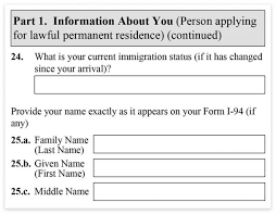 form 1 485 instructions legal immigration forms how to fill out form i 485 step by