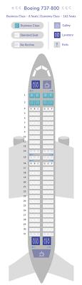B737 800 Seat Map Samoa Airways