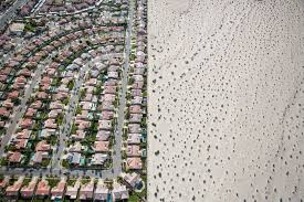 photos the best photo essays of the month com a housing development on the edge of undeveloped desert in cathedral city calif