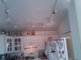 attractive track lighting for vaulted kitchen ceiling trends with suspended needs solution im stumped kit pictures