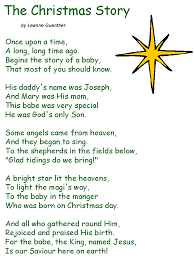 Christmas Poems For Church | fishwolfeboro