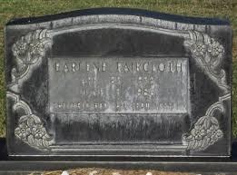 FAIRCLOTH, EARLENE - Gaines County, Texas | EARLENE FAIRCLOTH ...