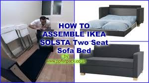 sofa maxresdefault amusing solsta bed 29 solsta sofa bed assembly instructions