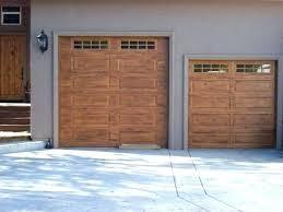 paint garage door to look like wood painting garage painting garage door to look like wood