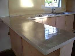 cement countertop cost pour in place concrete cloning decors trend poured