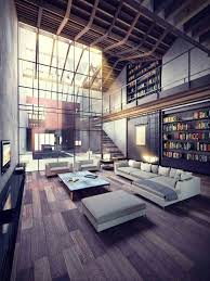 Natural lighting futura lofts Tegels Natural Light Contemporary Open Loft Library Itchbancom Yhomeco Architecture Living Space Furniture Inspiration 02 Beauty