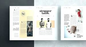 Free Magazine Template For Microsoft Word Magazine Article Template