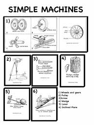 Simple Machines Worksheets For 1St Grade Worksheets for all ...