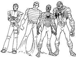 Disegni Da Colorare Nemici Spiderman Fredrotgans