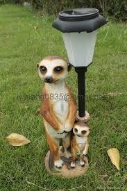 meerkat solar garden light 4755