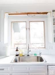 over the sink kitchen lighting. How To Remove A Wood Scalloped Valance Over Kitchen Sink The Lighting