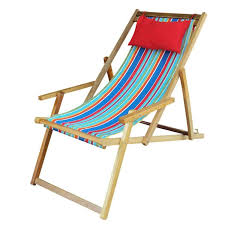 ... Buy Easy Deck Chairs online India - Multi-Stripe with Arm Rest ...