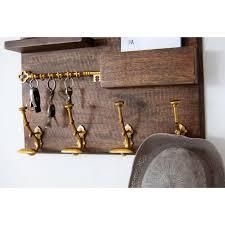 Coat Peg Rack Stunning ArtisanalCreations Coat Hook Rack With Shelf And Mail Holder