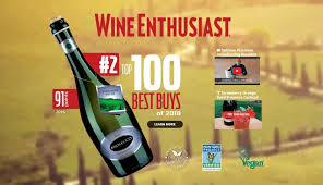 Wine Enthusiast 2017 Vintage Chart Prosecco Pizzolato Fields A Second Organic Place In The