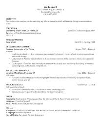 Free Resume Builder 2018 Magnificent Internship Resume Builder Social Media Internship Resume