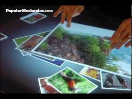 Micrsoft Table Microsoft Surface Multimedia Coffee Table Youtube