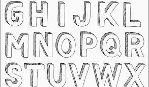 cool bubble alphabet fonts 3d letters a z