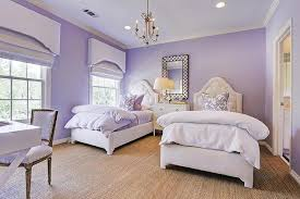 Purple Shared Girls Bedroom