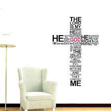wall arts church wall art bless this home decals removable stickers pray decor decoration