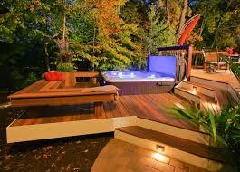 Backyard Decking Designs Model Cool Decorating Design