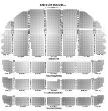 Radio City Music Hall Seating Chart Rockettes Methodical Radio City Music Hall Rockettes Seating Chart