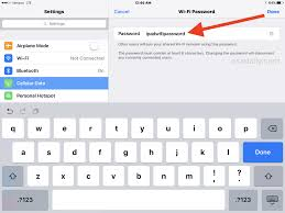 How To Change Wi Fi Personal Hotspot Password On Iphone Or Ipad