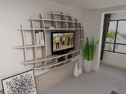 Small Picture Impressive Design Of Wall Shelves Tv Units For Living Room
