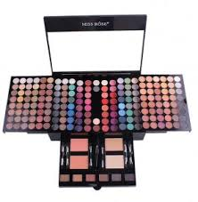 miss rose 180 color makeup kit eyes shadow eyebrow blusher powders souq uae