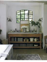 open bathroom vanity cabinet: gallery open vanities for bathrooms gray stained wooden vanity cabinet with open shelf and  drawers r