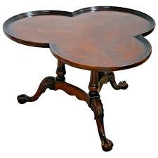 vintage coffee table bottom shelf solid