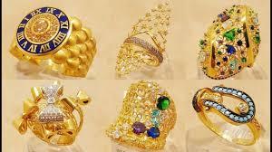 dubai 22k gold rings in unique designs द बई स न क अ ग ठ latest jewellery designs