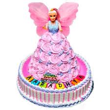 Buy Online Pinky Barbie Doll Cake In Sri Lanka Lakwimana