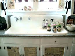 24 inch farmhouse sink post fireclay in reinhard white hazelton stainless steel