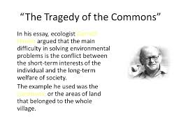 ecolog ppt  the tragedy of the commons