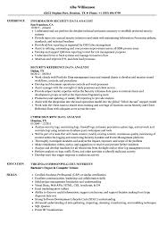 Web Analyst Resume Sample Security Data Analyst Resume Samples Velvet Jobs 43
