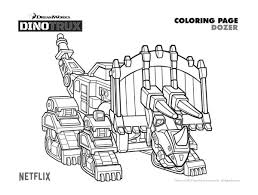 Free Printable Dinotrux Dozer Coloring Page Coloring Pages In 2019