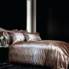 velvet duvet cover velvet gold duvet cover and pillowcase set amelie crushed velvet duvet cover set
