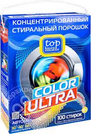 Отзывы о <b>Стиральный порошок Top house</b> Color Ultra ...