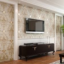 Small Picture Wallpaper 3D Embossed Non woven Wallpapers Luxury European Wall