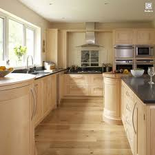 Interior kitchen design contemporary maple kitchen Shaker enlarged