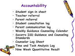 Abc School's Comprehensive Guidance Curriculum Counselor Names ...