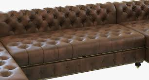 Leather Couch Restoration Restoration Hardware Cambridge Leather U Chaise Sectional 3d Model