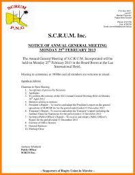 Agenda Examples Amazing 48 Example Of Notice And Agenda Of A Special Meeting Maujmaja