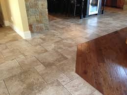 infinity floor no transition from tile to wood new house