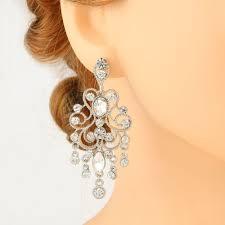 furniture pretty long chandelier earrings 4 stunning 10 impressiveg