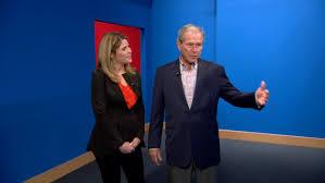 george w bush tells jenna i hope world leaders see spirit of my portraits