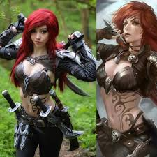 League of Legends Katarina cosplay : gaming