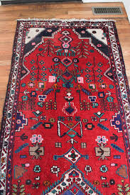 colorful vintage persian rug